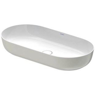 Luv DuraCream Çanak Lavabo 80 cm Satin Gri